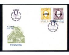 1980 - LOTTO/10971 - AZZORRE - PRIMI FRANCOBOLLI 2v. - BUSTA FDC