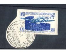 1952 - LOTTO/11053 - TRIESTE A - DIRITTO AERONAUTICO - USATO