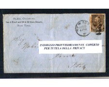 1887 - LOTTO/11146 - STATI UNITI - 5 CENT. JAMES A.GARFIELD - BUSTA