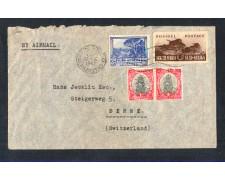 1947 - LOTTO/11153 - SUD AFRICA - BUSTA DA CAPE TOWN PER LA SVIZZERA