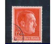1938 - LOTTO/11162 - GERMANIA REICH - 49° COMPLEANNO - USATO