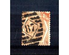 1872 - LOTTO/11191 - GRAN BRETAGNA - 6p. BISTRO TAV. 11 - USATO