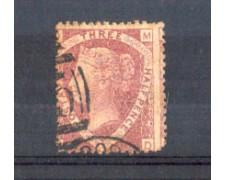 1870 - LOTTO/11192 - GRAN BRETAGNA - 1,5 Pence ROSSO CARMINIO - USATO