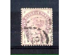 1883 - LOTTO/11206 - GRAN BRETAGNA - 1,5p. VIOLETTO - USATO