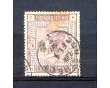 1883 - LOTTO/11208 - GRAN BRETAGNA - 2/6 VIOLETTO - USATO