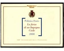 2000 - LOTTO/11231 - REPUBBLICA - POLIZIA DI STATO - FOLDER