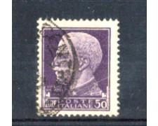 1929 - LOTTO/11266 - REGNO - 50 LIRE IMPERIALE - USATO