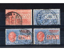 1925/26 - LOTTO/11406 - REGNO - ESPRESSI 4v. - USATI