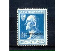 1927 - LOTTO/11467 - CIRENAICA - 1,25 L. A. VOLTA - LING.