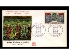 1968 - LOTTO/11086 - FRANCIA - FILIPPO IL BELLO - BUSTA FDC