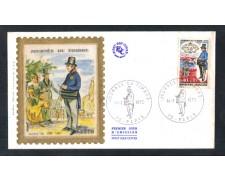 1970 - LOTTO/11108 - FRANCIA - GIORNATA FRANCOBOLLO - BUSTA FDC