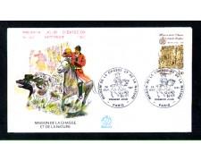 1981 - LOTTO/11113 - FRANCIA MUSEO CACCIA E NATURA - BUSTA FDC