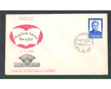 1969 - LOTTO/11119 - INDIA - CHANDRA CATTERJE - BUSTA FDC