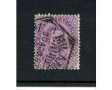 1889 - LOTTO/11483 - REGNO - 60c. VIOLETTO VITT.EMANUELE II° - USATO