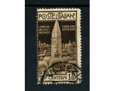1912 - LOTTO/11486 - REGNO - 15c. CAMPANILE DI VENEZIA - USATO
