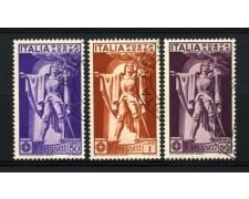 1930 - LOTTO/11493 - REGNO - FRANCESCO FERRUCCI POSTA AEREA 3v. - USATI