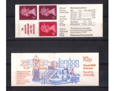 1989 - GRAN BRETAGNA - L/FA11 - LIBRETTO LONDON 89