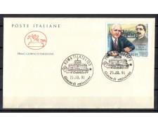 1991 - LOTTO/6974ZC - REPUBBLICA - GIORNATA FILATELIA - FDC