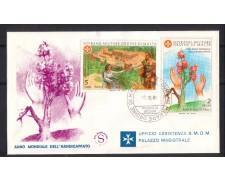 1981 - FDC/2217 SMOM - HANDICAPPATI