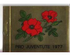 SVIZZERA - 1977 - L/1042 - LIBRETTO PRO JUVENTUTE
