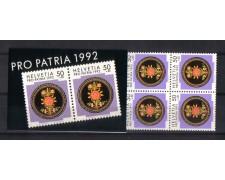 1992 - L/1399 -  SVIZZERA - LIBRETTO PRO PATRIA