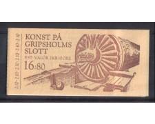 1987 - L/1428 -  SVEZIA - CASTELLO DI GRIPSHOLM - LIBRETTO