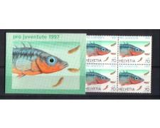 1997 - L/1157 -  SVIZZERA - LIBRETTO PRO JUVENTUTE - NUOVO