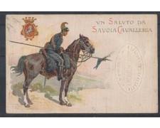 1915/18 - LBF/1272 - UN SALUTO DA SAVOIA CAVALLERIA