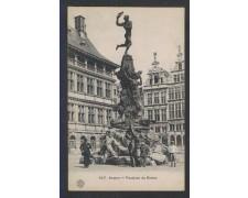BELGIO - 1900 - ANVERS - FONTAINE DE BRABO - LBF/1307