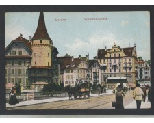 SVIZZERA - 1900 - LUZERN - SCHWANENPLATZ - LBF/1338