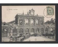 FRANCIA - 1905 - LILLE - LA GARE - LBF/1344