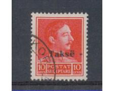 1936 - LBF/1857 - ALBANIA - SEGNATASSE 10Q. USATO