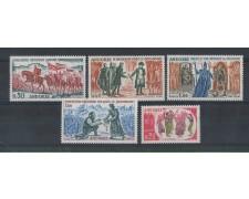 1963 - LBF/1871 - ANDORRA FRANCESE - AVVENIMENTI 5v.