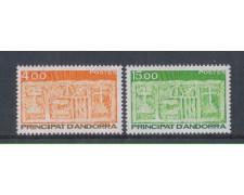 1986 - LBF/1875 - ANDORRA  FRANCESE - STEMMI 2v.