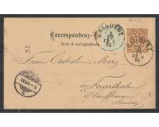 1884 - LBF/1998 - AUSTRIA - CARTOLINA POSTALE DA 2 Kr.