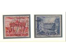 1949 - LBF/2054 - BERLINO -  MONUMENTI 3/5Dm. - USATI