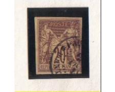 1884 - LBF/2285 - FRANCIA -20c. ROSSO MATTONE