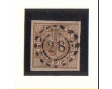 BAVIERA - 1861 - LBF/2359 - 9k. BISTRO - USATO
