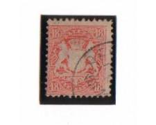 BAVIERA - 1875 - LBF/2363 - 18k. VERMIGLIO - USATO