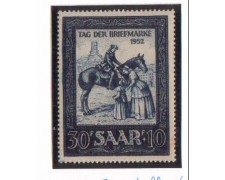 1952 - LBF/2392 - SARRE - GIORNATA FRANCOBOLLO