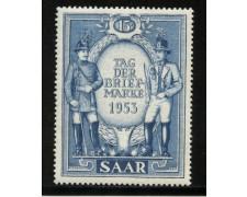 1953 - LBF/2393 - SARRE - GIORNATA DEL FRANCOBOLLO - NUOVO