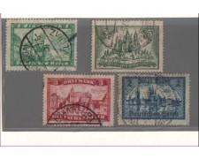 1924 - LBF/2413 -  GERMANIA REICH - VEDUTE 4v.