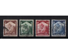 1935 - GER527CPU -  GERMANIA REICH -  RITORNO SARRE 2v. - USATI