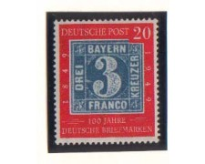 1949 - LBF/2420 - GERMANIA FEDERALE - 20p. CENT. FRANCOBOLLO