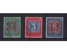 1949 - LBF/2430 -  GERMANIA FEDERALE - CENTENARIO FRANCOBOLLO -