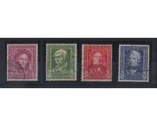 1949 - LOTTO/3600A - GERMANIA  FEDERALE - BENEFICENZA I° SERIE -