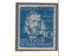 1952 - LBF/2445 - GERMANIA FEDERALE -  30p. PHILIP REIS - USATO