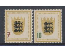 1955 - LBF/2458 - GERMANIA FEDERALE - MOSTRA DI STOCCARDA 2v.