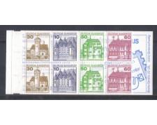 1979 - LBF/2469 - GERMANIA FEDERALE - CASTELLI CARNET