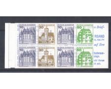 1979 - LBF/2470 - GERMANIA FEDERALE - CASTELLI CARNET